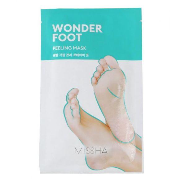 Маска-пилинг для ног с экстрактом лимона Missha Wonder Foot Peeling Mask 50ml