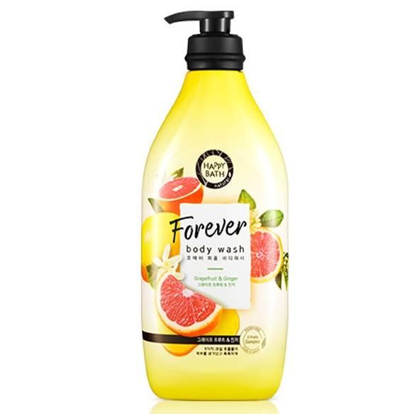 Гель для душа укрепляющий с экстрактом грейпфрута и имбиря Happy Bath Forever Grapefruit & Ginger Perfumed Body Wash 900ml
