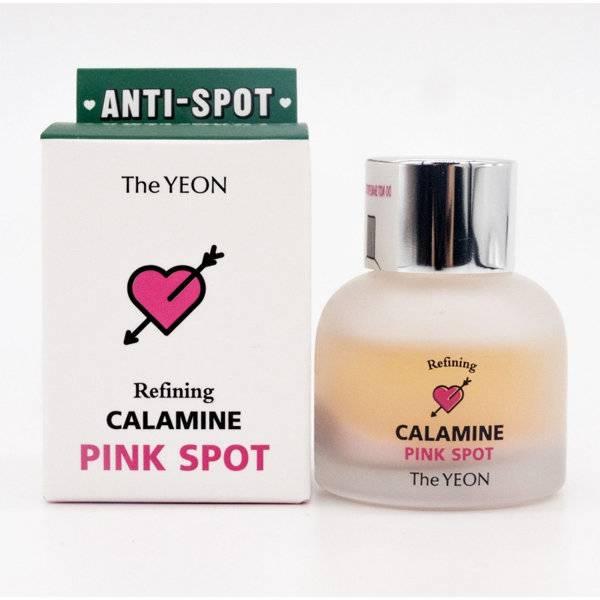 Средство Двухфазное Для Точечного Лечения Акне И Высыпаний С Каламином THE YEON REFINING CALAMINE PINK SPOT 15ml