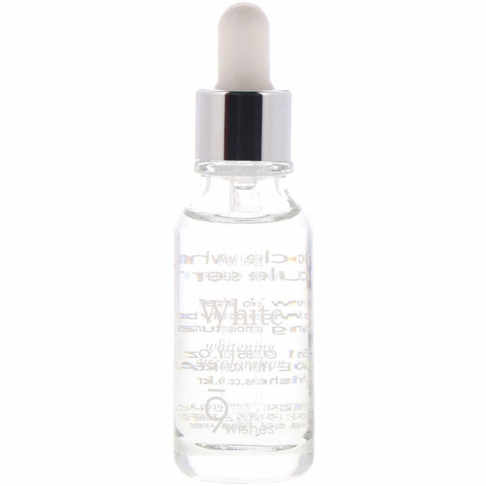 Сыворотка-Ампула Осветляющая С Экстрактом Жемчуга 9Wishes Miracle White Ampule Serum 25 мл