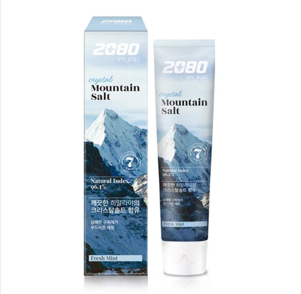 Зубная паста с гималайской солью Aekyung 2080 Crystal Mountain Salt Toothpaste 120g