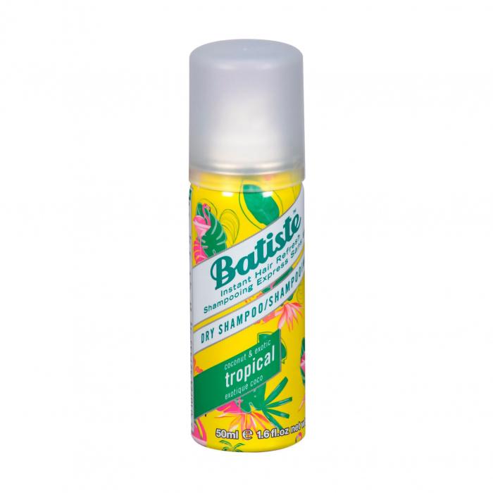 Шампунь сухой бессульфатный с кокосом и экзотическими фруктами для волос Batiste Dry Shampoo Coconut and Exotic
