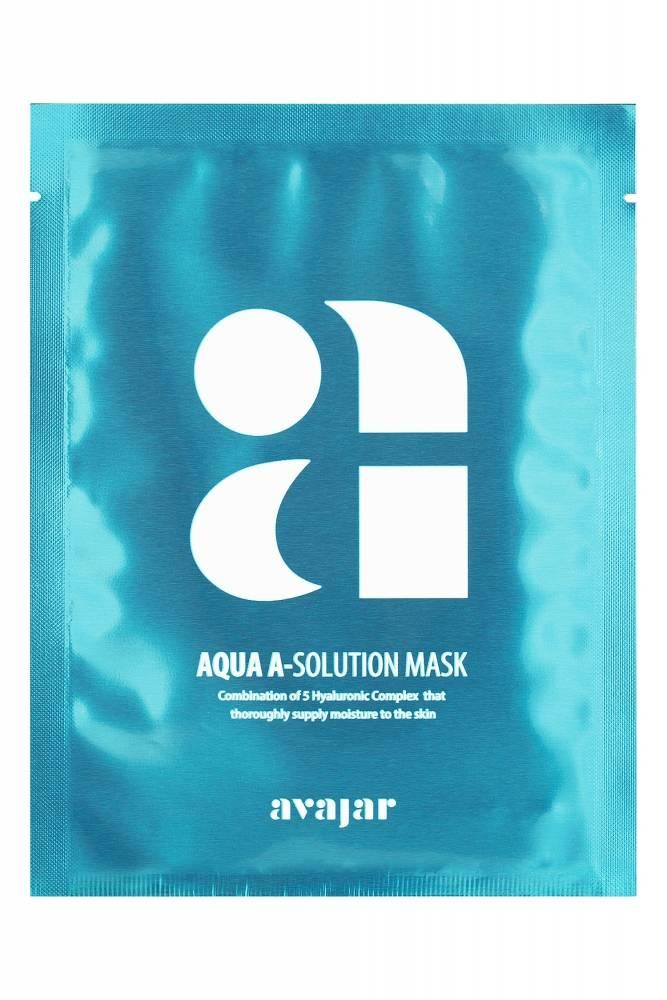 Увлажняющая Маска С Высокой Концентрацией Гиалуроновой Кислоты Avajar Aqua A-Solution Mask