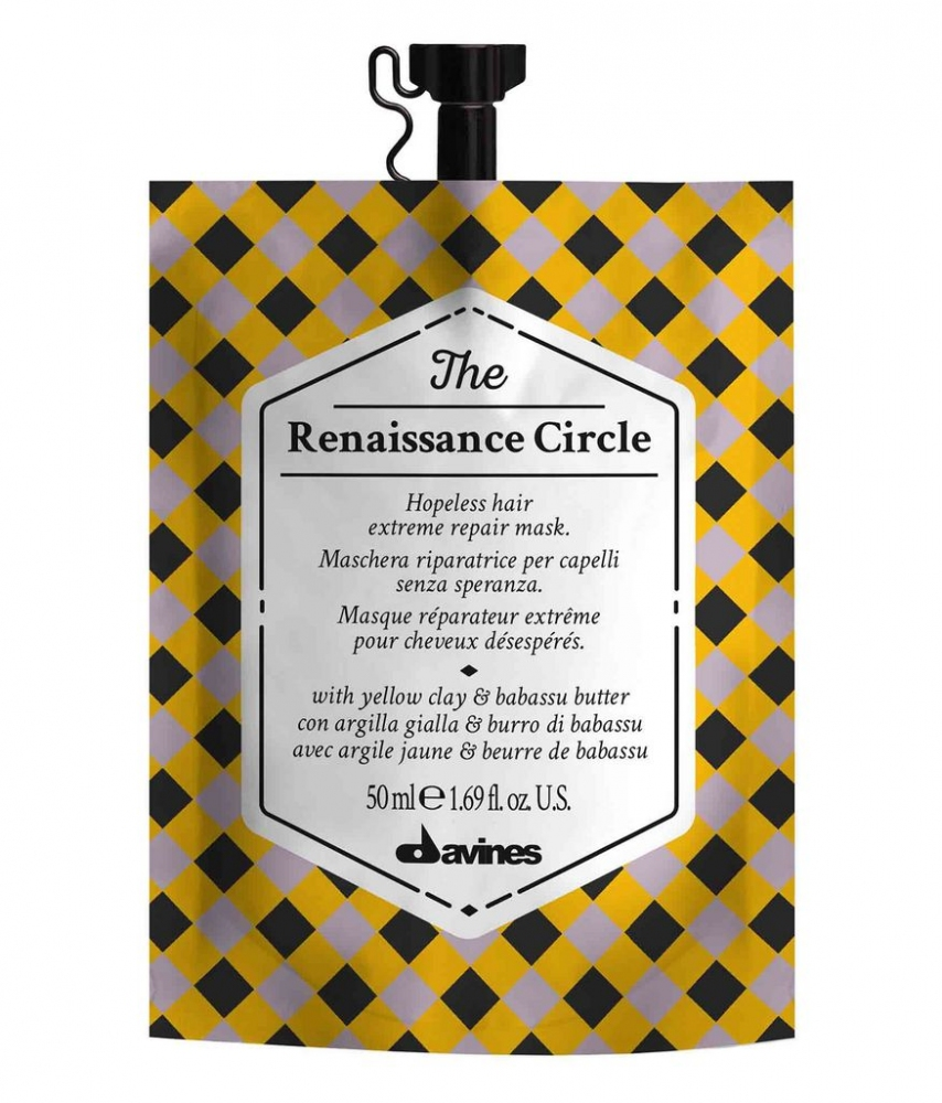 Маска восстанавливающая для волос Davines The Circle Chronicles The Renaissance Circle 50ml