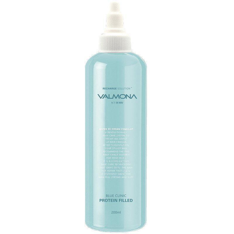 Маска для волос увлажняющая Evas Valmona Blue Clinic Protein Filled 200ml