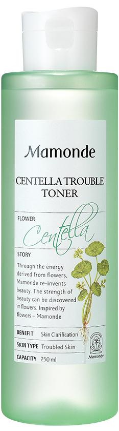 Тонер успокаивающий с центеллой для лица Mamonde Centella Trouble Toner 150g
