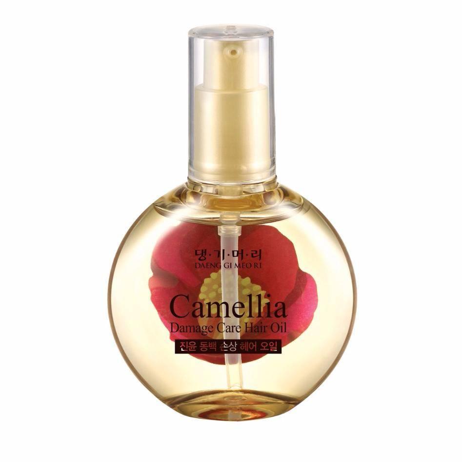 Питательное масло для поврежденных волос Daeng Gi Meo Ri Camellia Damage Care Hair Oil 67ml