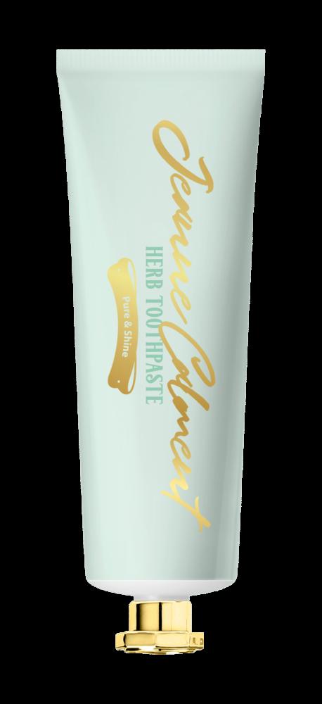 Зубная паста отбеливающая Evas Jeanne Calment Herb Toothpaste Pure & Shine 80g