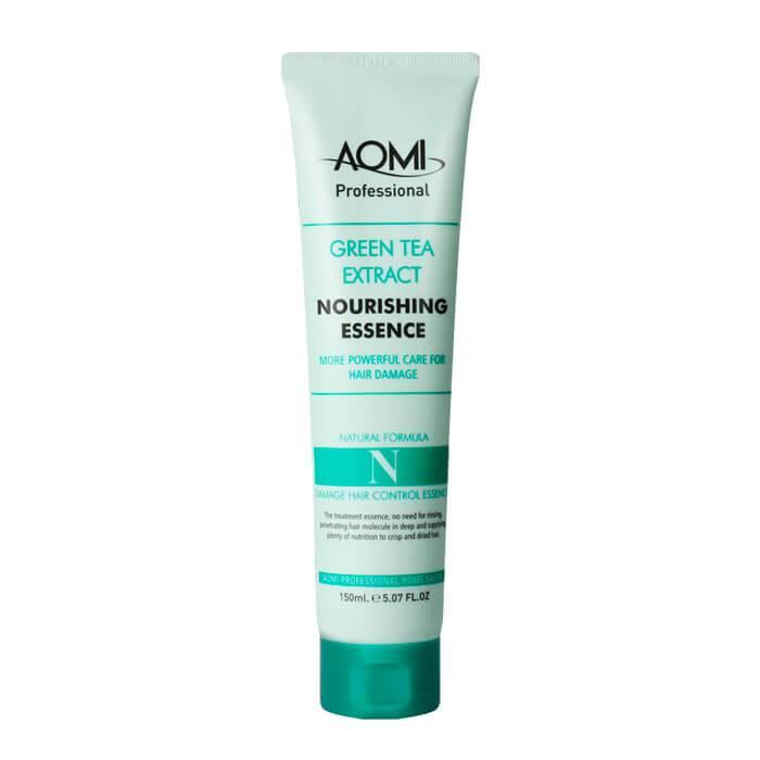Эссенция восстанавливающая для поврежденных волос Aomi Green Tea Extract Nourishing Essence 150ml