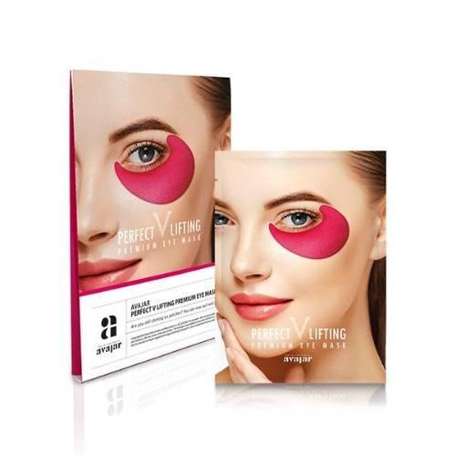 Маска Лифтинг Для Кожи Вокруг Глаз С Ниацинамидом Avajar Perfect V Lifting Premium Eye Mask