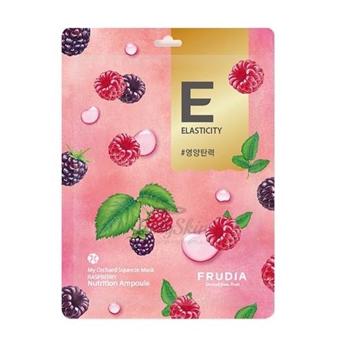 Маска тканевая омолаживающая для лица с экстрактом малины Frudia My Orchard Squeeze Mask Raspberry 20ml