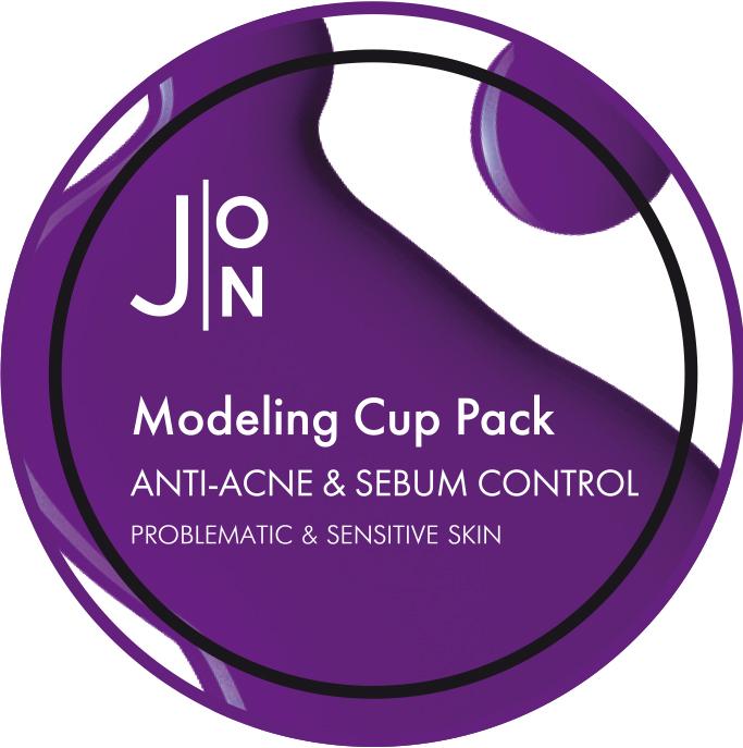 Маска альгинатная для лица против акне J:ON Modeling Pack Anti-Acne & Sebum Control, 18g