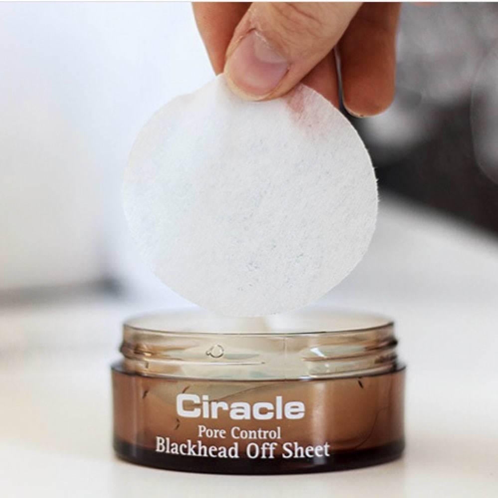Салфетки От Черных Точек И Очищения Пор Ciracle Pore Control Blackhead Off Sheet 35шт