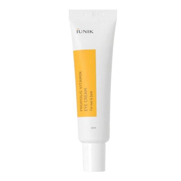 Крем витаминный с прополисом и облепихой для глаз IUNIK Propolis Vitamin Eye Cream 30ml