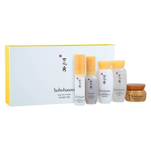 Набор миниатюр. Набор из 5-ти уходовых средств для омоложения кожи лица Sulwhasoo Basic Kit (5 Items)