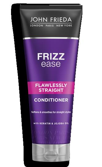 Кондиционер выпрямляющий для волнистых, вьющихся и непослушных волос John Frieda Frizz-Ease Flawlessly Straight 250ml
