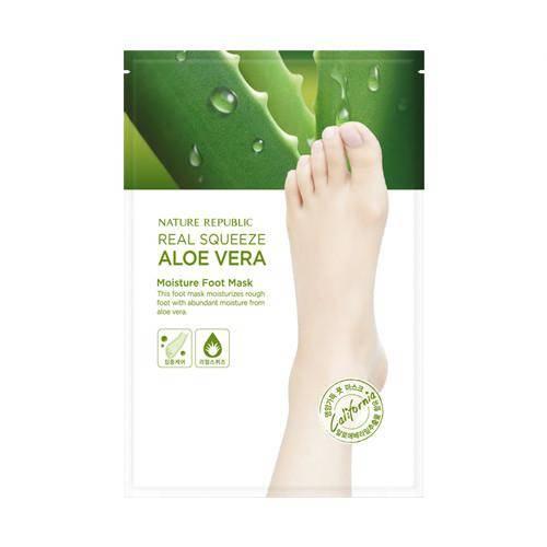 Маска Пилинг Для Ног С Экстрактом Алоэ Nature Republic Foot & Nature Aloe Peeling Foot Mask