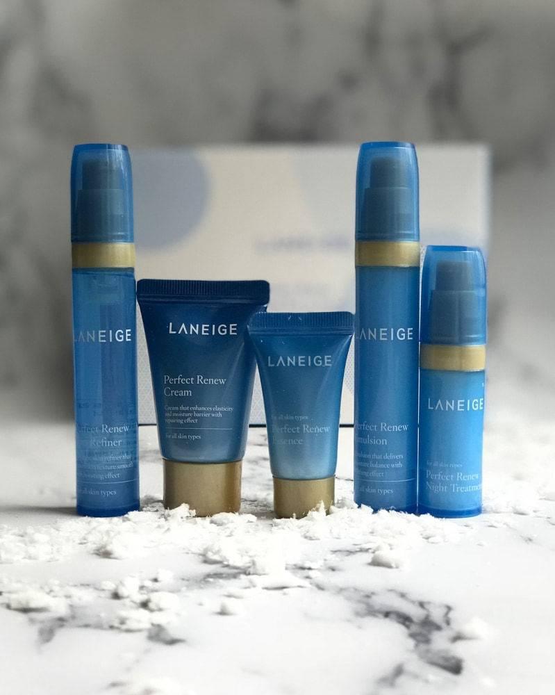Набор для глубокого увлажнения кожи Laneige Perfect Renew Trial Kit