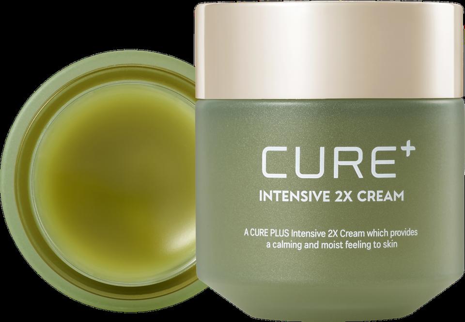 Крем успокаивающий с экстрактом алоэ Kim Jeong Moon Aloe Cure Plus Intensive 2X Cream 50g