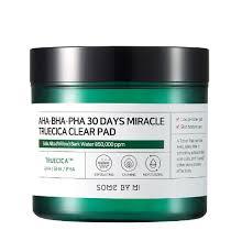 Пилинг-пэды успокаивающие с экстрактом центеллы для проблемной кожи Some By Mi AHA BHA PHA 30 Days Miracle Truecica Clear Pad  (70ea)