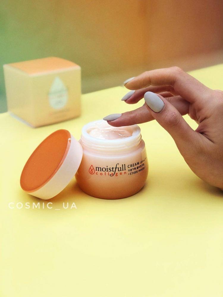 Увлажняющий Омолаживающий Крем С Коллагеном Etude House Moistfull Collagen Cream 75ml