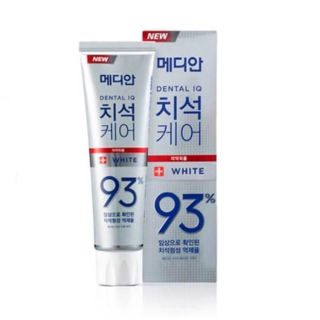 Отбеливающая Зубная Паста Dental Cosmetic White Median 120ml (серебрянная упаковка)
