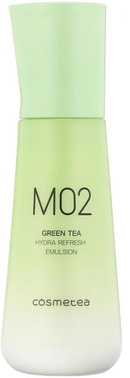 Тонер для лица увлажняющий с экстрактом зеленого чая и центеллы азиатской Green Tea, Hydra Refresh Toner Cosmetea 30 ml