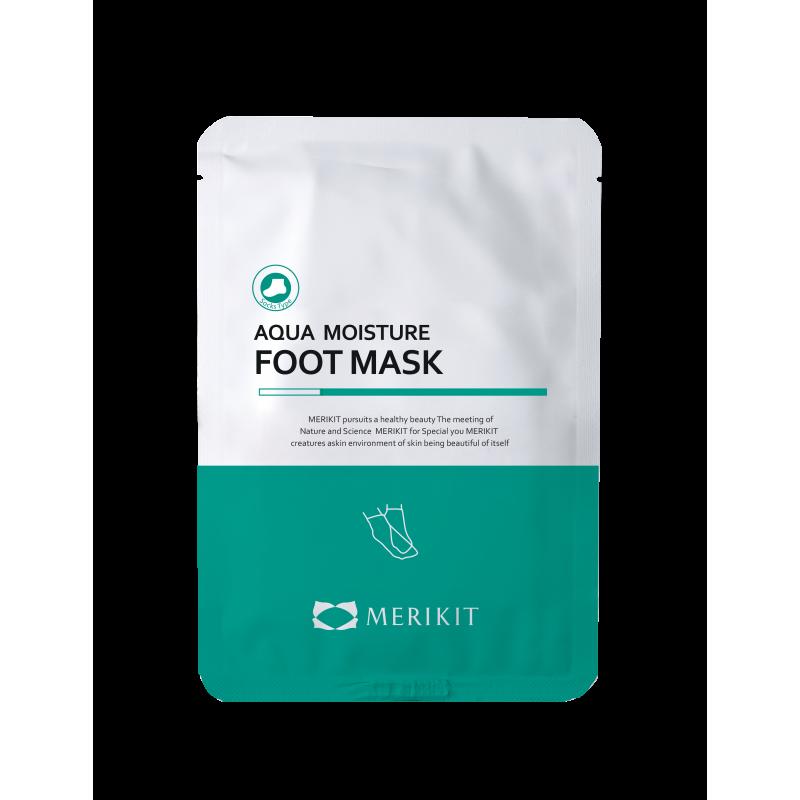 Маска-носочки увлажняющая для ног с мочевиной Merikit Aqua Moisture Foot 20ml