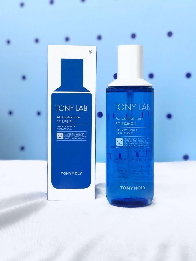 Тонер Увлажняющий Успокаивающий Для Чувствительной И Проблемной Кожи Tony Moly Lab AC Control Toner