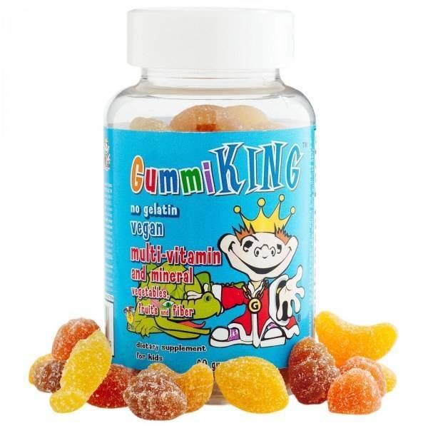Мультивитамины И Минералы Для Детей Gummi King Vitamins And Minerals
