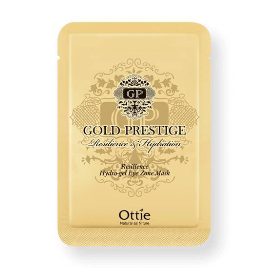 Гидрогелевые Патчи С Коллоидным Золотом Ottie Gold Prestige Resilience Hydrogel Eye Zone Mask