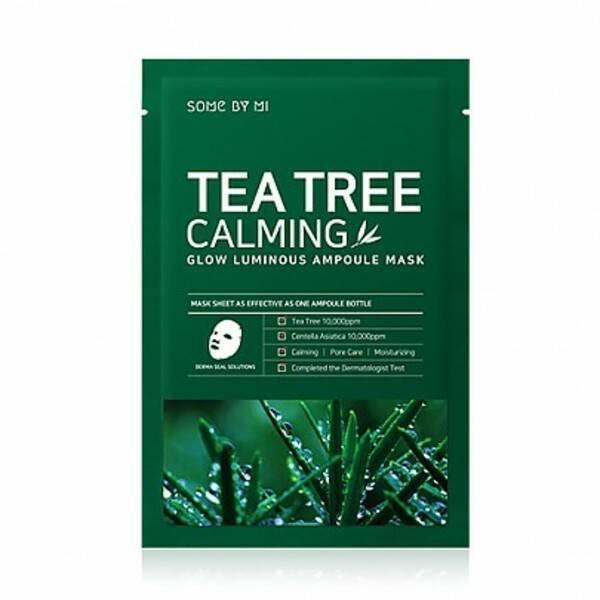 Маска Успокаивающая С Маслом Чайного Дерева SOME BY MI Tea Tree Calming Glow Luminous Ampoule Mask 25ml