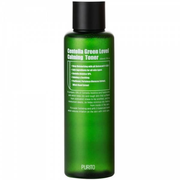 Успокаивающий Тонер С Экстрактом Центеллы И Гаммамелиса Purito Centella Green Level Calming Toner
