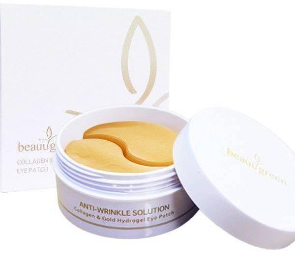Гидрогелевые Патчи С Коллагеном И Коллоидным Золотом BeauuGreen Collagen & Gold Hydrogel Eye Patch