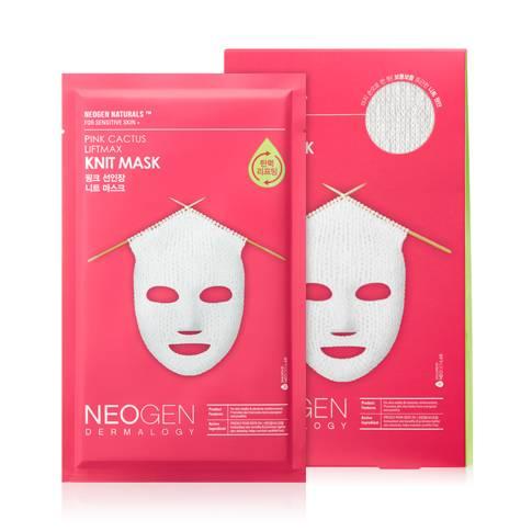 Маска Вязаная Омолаживающая С Керамидами Neogen Pink Cactus Liftmax Knit Mask 60ml