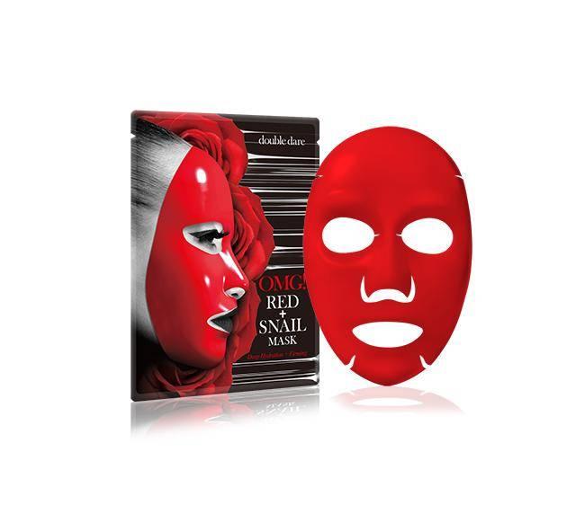 Маска С Экстрактом Томата И Улиточным Муцином OMG! Red+Snail Mask 1ea
