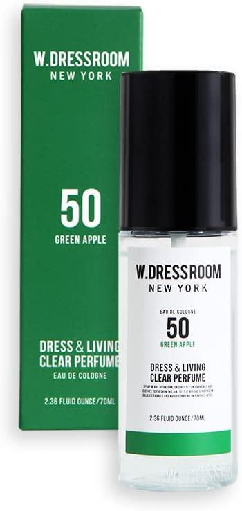 Парфюмированная вода для одежды и белья с ароматом зеленого яблока W.Dressroom Dress & Living Clear Perfume No.50 Green Apple 70ml