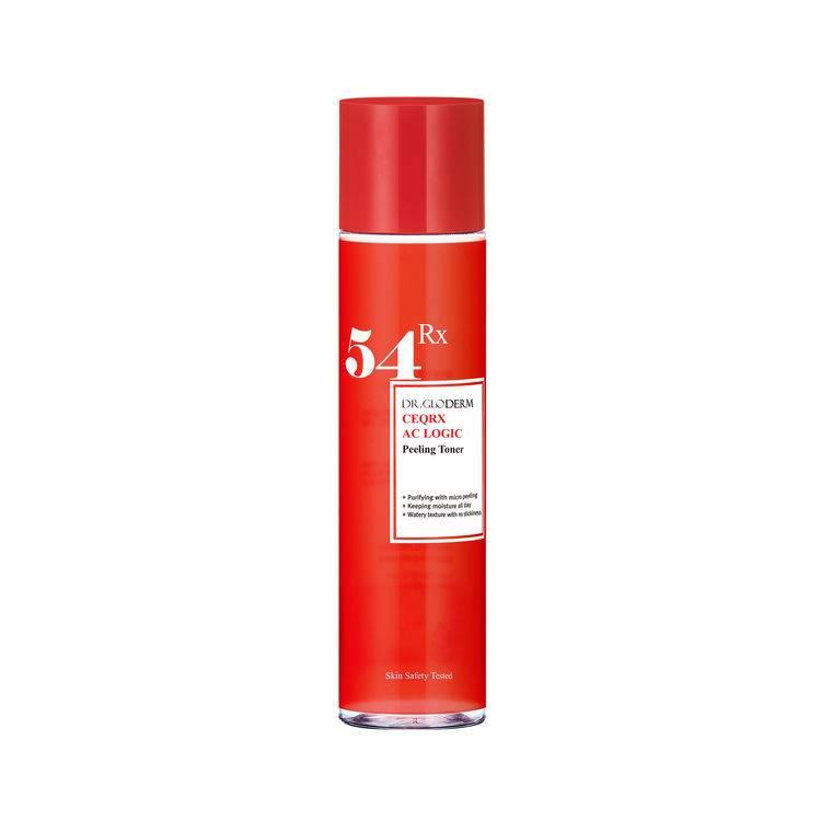 Гипоаллергенный тоник против угревой сыпи для проблемной и чувствительной кожи DR.GLODERM CEQRX AC LOGIC PEELING TONER 140ml
