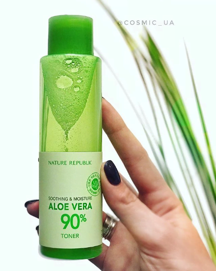 Тонер Увлажняющий С Экстрактом Алое Nature Republic Soothing & Moisture Aloe Vera 90% Toner 160ml