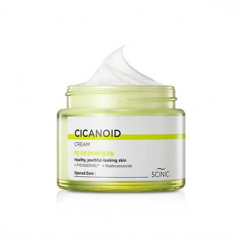 Крем Восстанавливающий Омолаживающий С Циканоидом Scinic Cicanoid Cream 80ml
