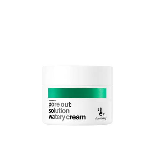 Крем для сужения пор с маслом семян арбуза BellaMonster Pore Out Solution Watery Cream 50ml