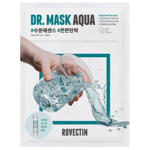 Интенсивно увлажняющая маска для лица Rovectin Skin Essentials Dr. Mask Aqua 25ml