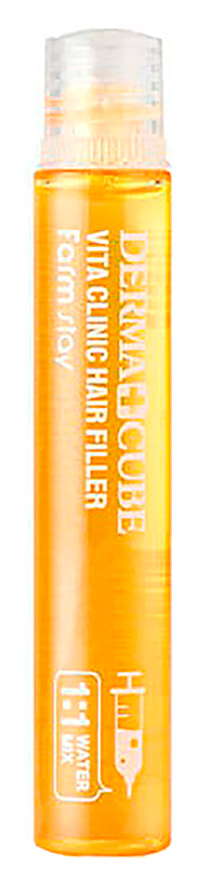 Филлер восстанавливающий с витамином E для волос FarmStay Derma Cubed Vita Clinic Hair Filler 13ml