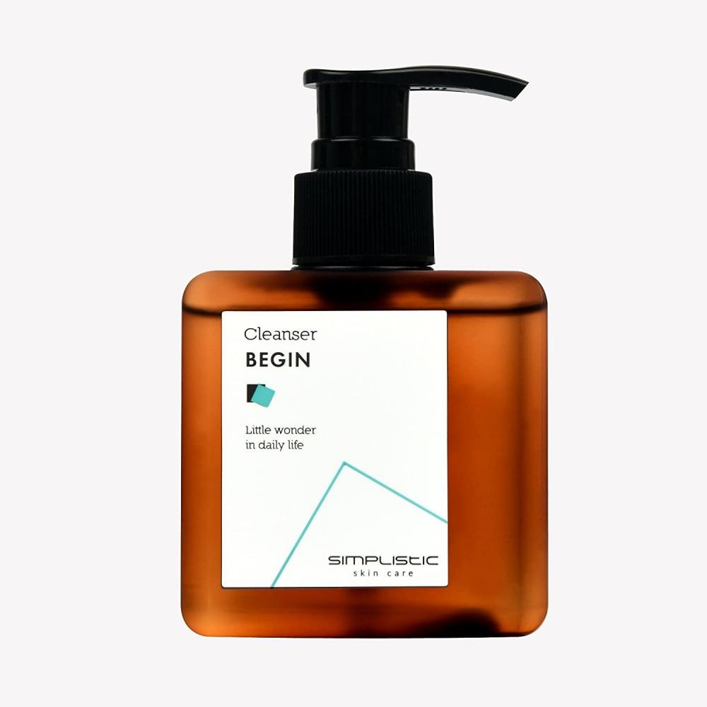 Пенка органическая для бережного очищения кожи с мёдом Simplistic Skincare Cleanser Begin 250ml
