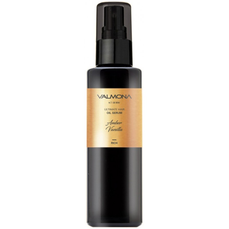 Сыворотка для волос с ароматом ванили Evas Valmona Ultimate Hair Oil Serum Amber Vanilla 100ml