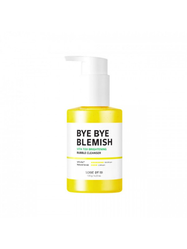 Маска-пенка для лица кислородная Some By Mi Bye Bye Blemish Vita Tox Brightening Bubble Cleanser 120ml