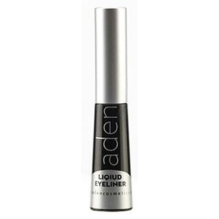 Подводка для глаз водостойкая черная Aden Cosmetics Liquid Eyeliner 5ml