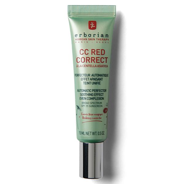 СС-крем корректирующий с зелеными пигментами для лица Erborian СС Red Correct