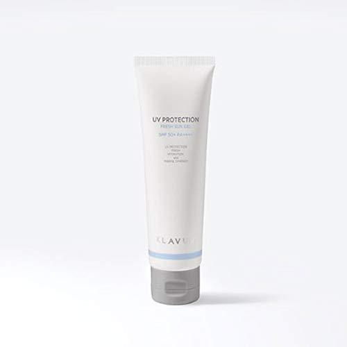 Солнцезащитный освежающий гель для лица с морской водой Klavuu UV Protection Fresh Sun Gel SPF 50+ PA++++ 50ml