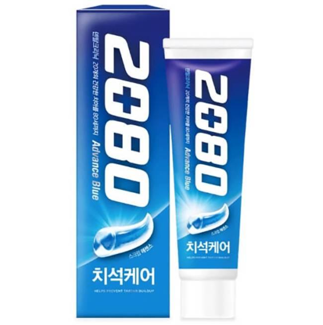 Отбеливающая Зубная Паста С Экстрактом Коры Дуба 2080 Advance Blue Toothpaste Scrub Essence 120ml (синяя упаковка))